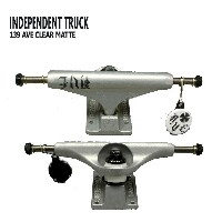 INDEPENDENT/インデペンデントトラック139 STAGE11 AVE CLEAR MATTE STANDARD TRUCKS INDEPENDENT INDY/インディー...