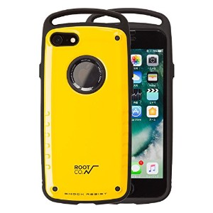 【ROOT CO.】iPhone 8 iPhone7 ケース GRAVITY Shock Resist Case Pro. /イエロー 衝撃吸収(ワイヤレス充電非対応)