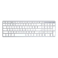 Satechi サテチ Bluetooth ワイヤレススマートキーボード (白 / Mac US配列) Wireless Keyboard White ST-BWSKMS