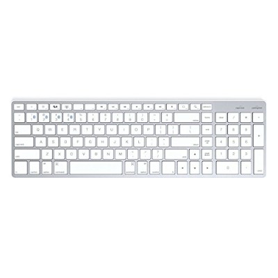 Satechi サテチ Bluetooth ワイヤレススマートキーボード (白/Mac US配列) Wireless Keyboard White ST-BWSKMS