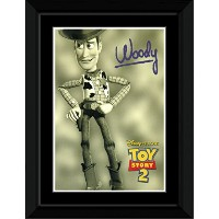Toy Story 2 - Woody - Sepia Framed Mini Poster - 14.7x10.2cm