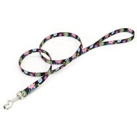 Coastal Pet 00466 WDF06 Pet Leash, 5/8 by 6-Inch, Wildflower Pattern by Coastal Pet