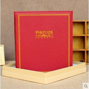 Embroidery leather 6 inch large 6 inch interstitial album pocket bag collection 400pcs