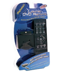 PlayStation 2 Lighted DVD Remote Control (輸入版)