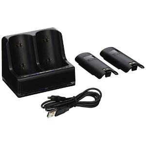 Wii Dual Charger Black Hyperkin (輸入版)