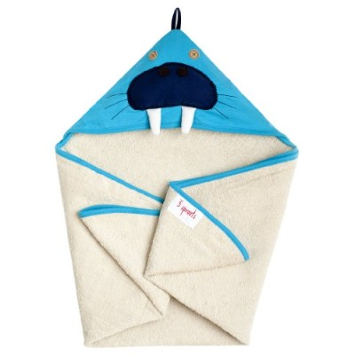 3 Sprouts Hooded Towel Walrus (並行輸入)