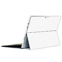 wraplus for Surface Pro / Pro 4 【ホワイトレザー】 スキンシール 側面 背面 カバー フィルム 保護 ケース