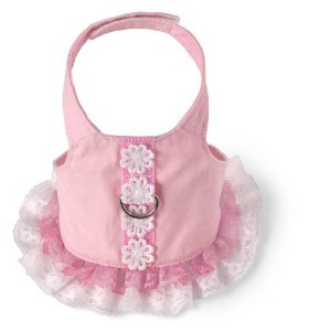 Doggles HADSSM02 Small Harness Dress - Pink