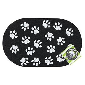 ORE Pet Recycled Rubber Jumbo Paws Placemat by ORE