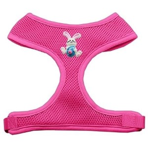 Mirage Pet Products 73-35 SMPK Easter Bunny Chipper Pink Harness Small