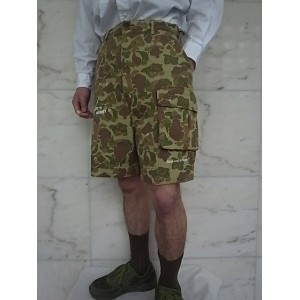 PORTER CLASSIC(ポータークラシック)【CAMO】P.C CAMO SAFARI SHORTS★