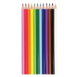 Heritage Arts hcp12 12-piece Colored Pencil Set