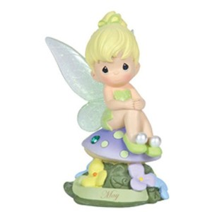 Precious Moments Disney Show Case Collection Collectible Figurine, May Fairy As Tinker Bell,...