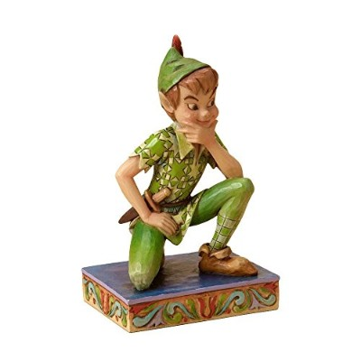 High Quality Traditions by Jim Shore Peter Pan Stone Resin Figurine