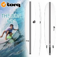 torq(トルク) TEC 9'0 THE DON 2 + 1 Finboxes(Futures Fin) ロングボード エポキシ EPS【店舗引取で送料無料】