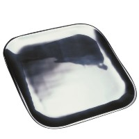 Nambテδゥ Square 11-Inch Service Plate by Nambe
