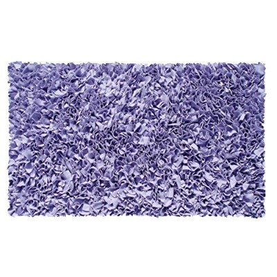 The Rug Market Shaggy Raggy Children's Area Rug, Purple by The Rug Market