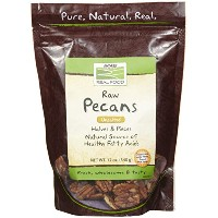 海外直送品 Now Foods Pecans Halves and Pieces Raw, 12 oz