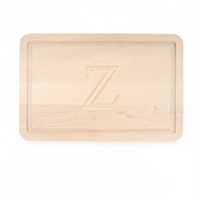 BigWood Boards 210-Z Cutting Board, Monogrammed Cutting Board, Maple Cutting Board, Thick Utility...