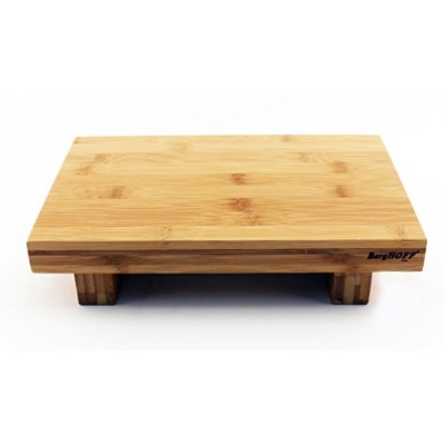 (27cm x 18cm, Natural) - BergHOFF 2211843 Bamboo Sushi Tray, 27cm x 18cm, Natural