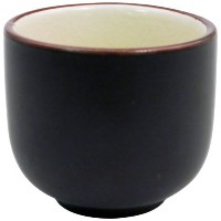 CAC China 666-WC-W Japanese Style 2-Inch Creamy White Sake Cup, 1.5-Ounce, Box of 72 [並行輸入品]