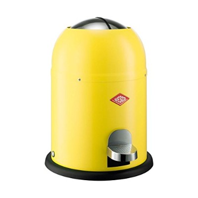 Wesco SingleマスターWaste Can Under 5 Gallons イエロー [並行輸入品]
