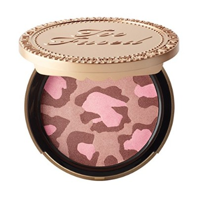 Too Faced Pink Leopard Blushing Bronzerトゥフェイスチーク・フェイスパウダー並行輸入品