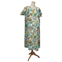 the peanut shell Hospital Gown, Boho Chic, Large/X-Large by The Peanut Shell