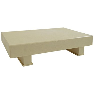 Paderno World Cuisine Footed Sushi Board, Beige