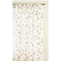 High Quality Brewster Lace Tailored Window Treatment Panel, 50 by 63-Inch, Ivory