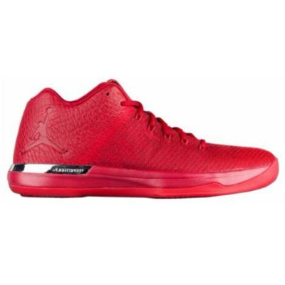 "ジョーダン メンズ バスケットボールシューズ Jordan XXXI Low ""Chicago Away"" Gym Red/Gym Red/Action Red-Chrome"