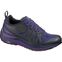 サロモン Salomon レディース ハイキング シューズ・靴【Odyssey Pro Hiking Shoe】Evening Blue/Astral Aura/Acai