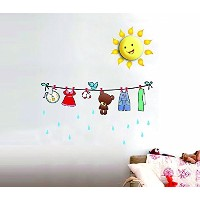 Dream Wall Decal, Baby CloThesline by Dream Wall [並行輸入品]