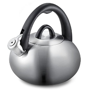Calphalon 2-Quart Stainless Steel Tea Kettle with Whistle [並行輸入品]