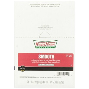 Krispy Kreme Smooth Coffee Keurig K-Cup Brewers, 24 Count [並行輸入品]