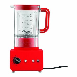 Bodum 11303-294US Bistro 5-Speed Electric Blender, 42-Ounce, Red by Bodum [並行輸入品]