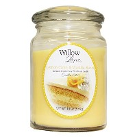 Candle-lite Willow Lane 19oz Jar with Soy Wax - Lemon cake & Vanilla Swirl [並行輸入品]