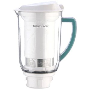 Preethi MGA-508E Super Juicer Extractor with Whipper Blade for Preethi Eco Twin/Eco Chef/Eco Plus ...