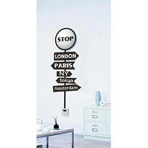 Dream Wall Decal, World Cities Marker [並行輸入品]