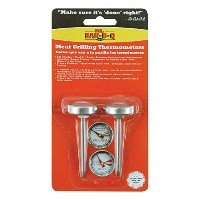 Mr. Bar-B-Q 40146X Stainless Steel Meat Grilling Thermometers, 2 Pack [並行輸入品]