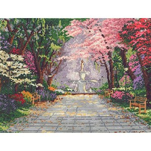 "Thomas Kinkade Savannah Romance Counted Cross Stitch Kit-14""X11"" 14 Count (並行輸入品)"