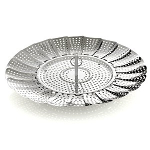 Zyliss Stainless Steel Vegetable Steamer, 11-Inch, Silver [並行輸入品]