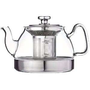 Uniware 1200ml Hop Topt Glass Kettle with Filter [A10047] [並行輸入品]