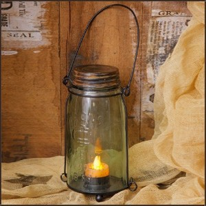 Your Hearts Delight Canning Jar Lantern, 7-1/2 by 3-3/4-Inch [並行輸入品]