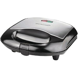 Brentwood TS-240B Black and Stainless Steel Sandwich Maker [並行輸入品]