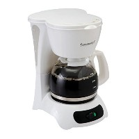 Continental Electric 4-Cup Coffee Maker, White [並行輸入品]