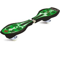 Dazzling Toys High Quality Zooming Caster Green Ripstik Board [並行輸入品]
