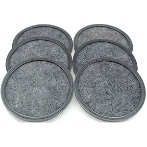 Mr. Coffee 113035-001-000 Water Filtration Disk, 3.25-Inch, Pack of 6 [並行輸入品]