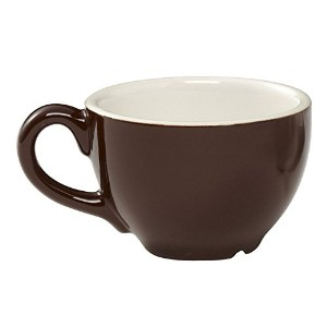 Rattleware 2-Ounce Cremaware Cup, Brown, 6-Pack [並行輸入品]