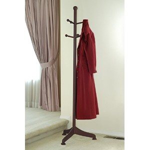 Winsome Wood Coat Hanger, Walnut [並行輸入品]